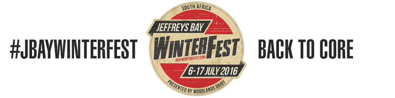 Jeffreys Bay Winterfest 6-17 July 2016