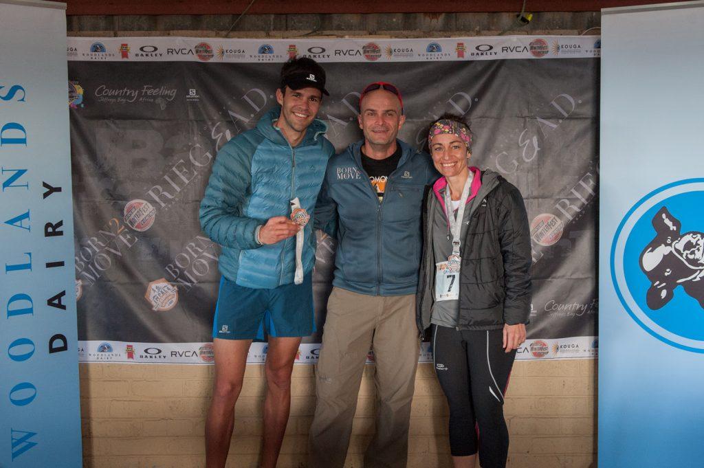 Our winners Bradley Heyman and Christine Dempsey © Kody McGregor