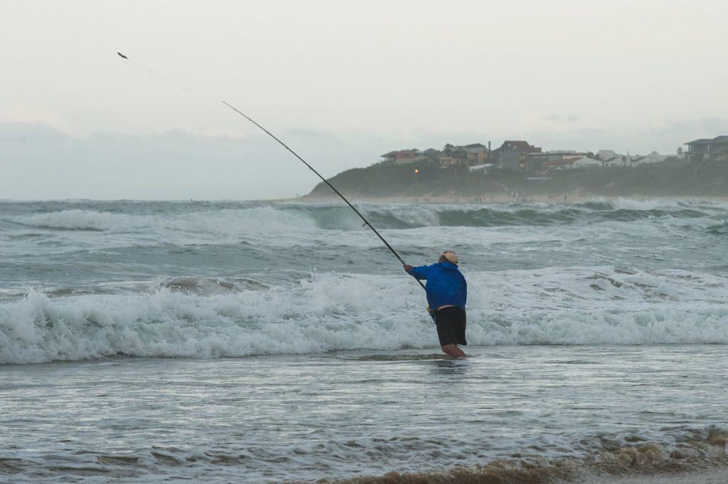 A fishing skins competitor © Kody McGregor