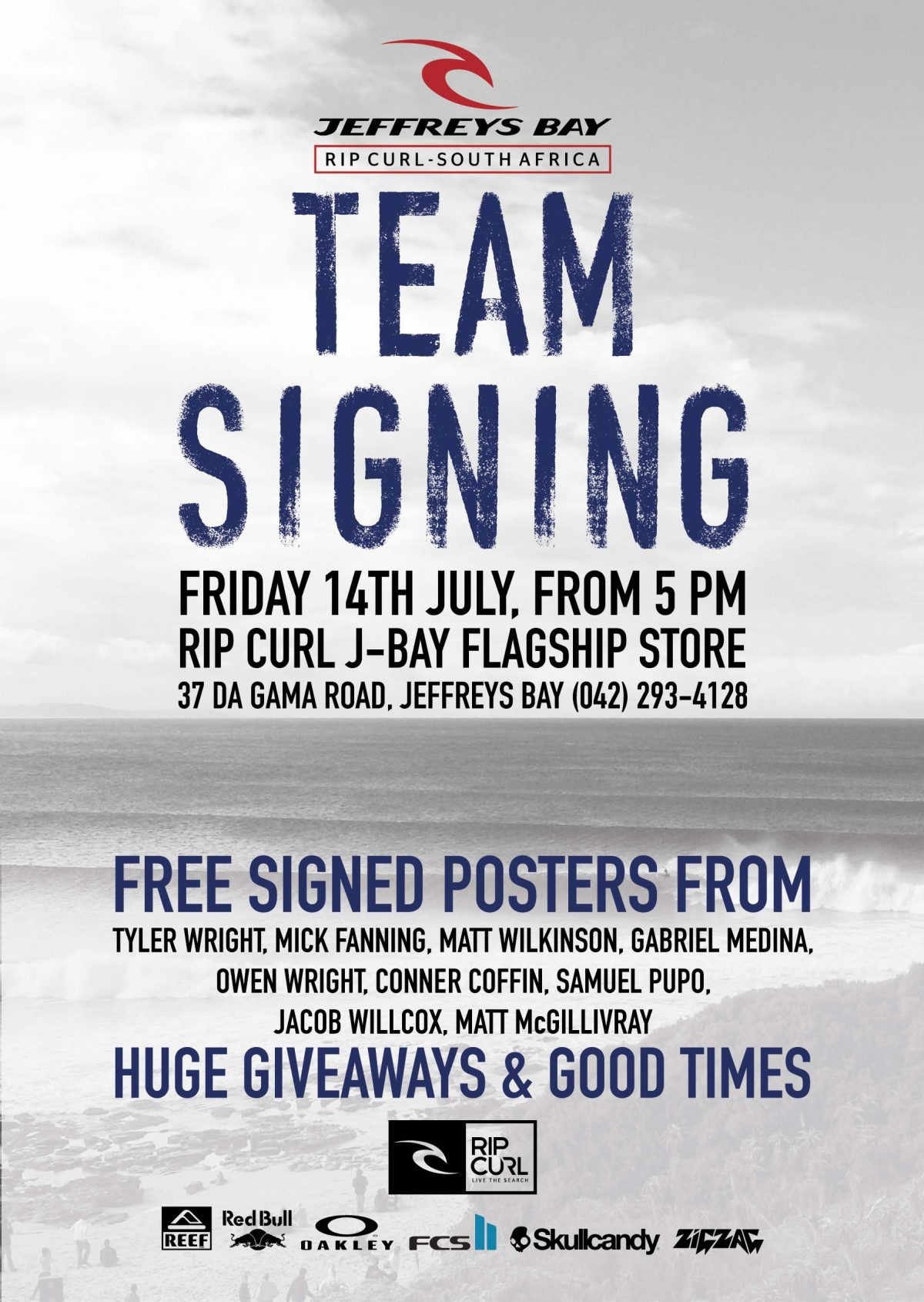 Meet Team Rip Curl