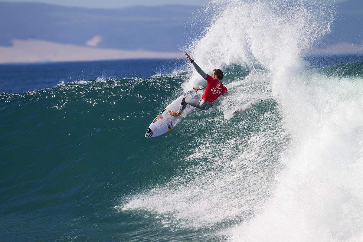 Jordy Smith the local favourite for the Corona Open JBay ©WSL/Kelly Cestari
