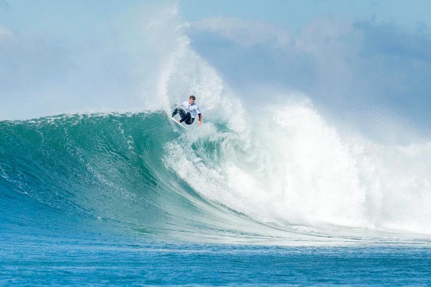 Dale Staples will come up against Jordy Smith in round 2. Photo WSL/Kelly Cestari
