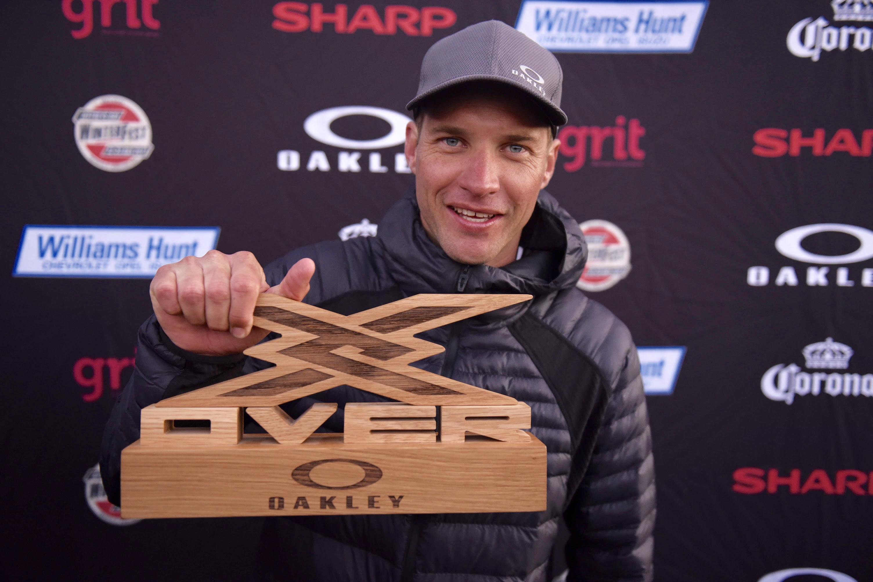 The Oakly X Over Winner Greg Minnaar © Kolesky/Nikon/Lexar