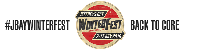 Jeffreys Bay Winterfest 12-23 July 2017