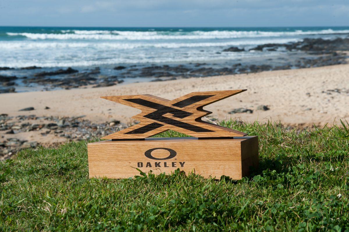 The Oakley X Over trophy ©Kody McGregor