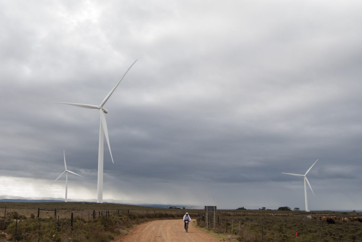 The amazing JBay Windfarm MTB Classic Route © Jazz Kuschke